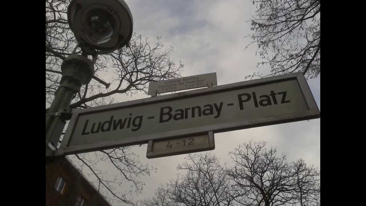 Barnay Lajos tere Berlinben